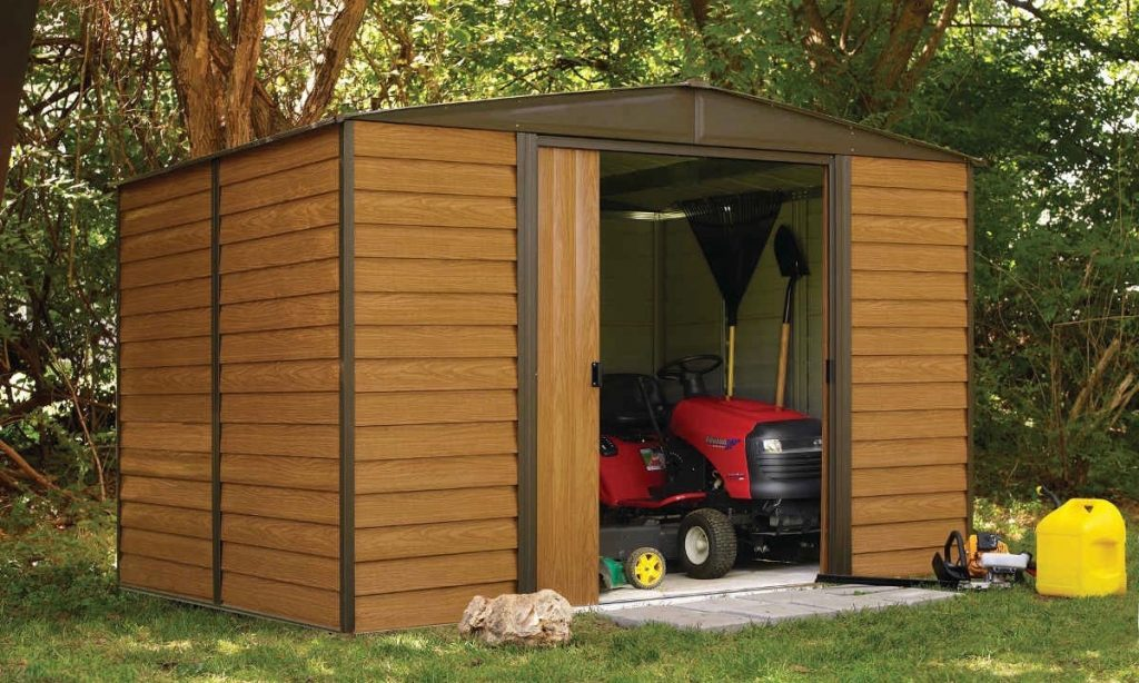 Arrow WL108 Woodlake 10' x 8' Steel Shed