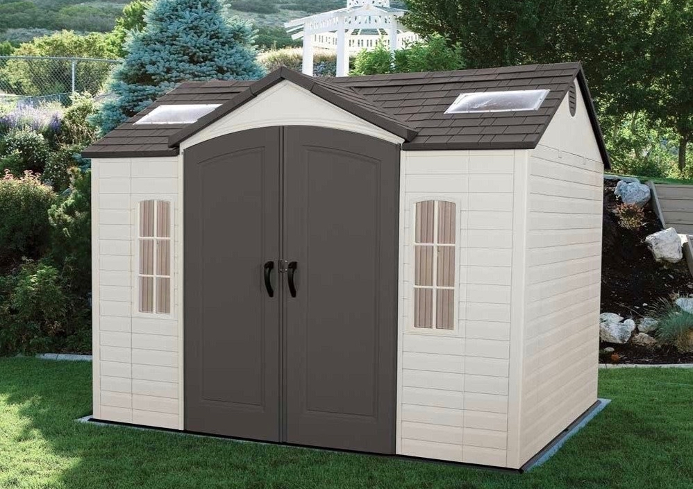 Lifetime 60005 10 x 8 ft Storage Shed